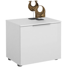 MAJA Möbel Schuhbank Trend weiß matt Weißglas Typ I