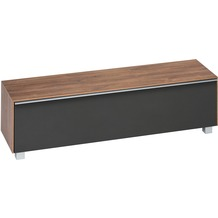 MAJA Möbel Soundboard Eiche dunkel - Akustikstoff schwarz 1611 x 436 x 420 mm