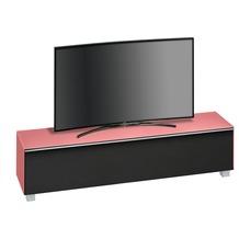 MAJA Möbel Soundboard Glas hibiskus matt - Akustikstoff schwarz 1802 x 433 x 420 mm