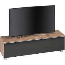 MAJA Möbel Soundboard Riviera Eiche - Akustikstoff schwarz 1611 x 436 x 420 mm