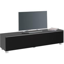 MAJA Möbel Soundboard Soundconcept Glass Glas anthrazit matt Akustikstoff schwarz groß