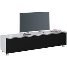 MAJA Möbel Soundboard Soundconcept Glass Glas seidengrau matt Akustikstoff schwarz groß