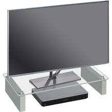 MAJA Möbel TV-Board MEDIA ZUBEHÖR Klarglas 60 x 12,2 x 27,6 cm