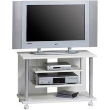 MAJA Möbel TV-Rack MEDIA MODELLE HOLZ weiß uni 80 x 54,5 x 40 cm