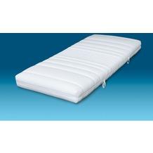 MALIE Matratze mit 7 Komfortzonen, Höhe 14 cm, Härtegrad 4 (ab 100kg) 90x190 cm