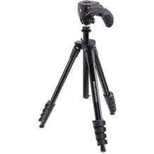 Manfrotto Compact Action Black Stativ-Set: Foto-Videokopf +Tasche