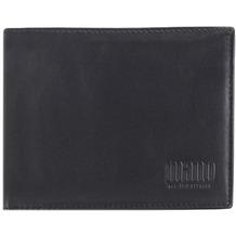 mano Planus Geldbörse Leder 12 cm schwarz