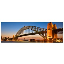 Apalis Leinwandbild No.212 Harbour Brücke in Sydney 120x40cm 120x40cm