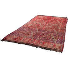 Tuaroc Teppich Beni Ourain Legends #KK225 #KK225 red multi 186 x 324 cm