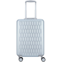 march Discovery 4-Rollen Kabinentrolley 55 cm silver alu