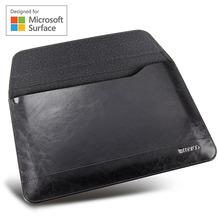 maroo Executive Leder-Tasche / Sleeve, Microsoft Surface Go 2/Go, schwarz, MR-MS3104