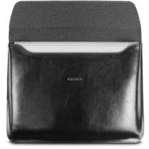 maroo Marbled Leder-Tasche / Sleeve Microsoft Surface Book 2 / Book schwarz