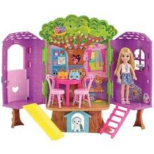Barbie Barbie Chelsea Baumhaus Spielset und Puppe