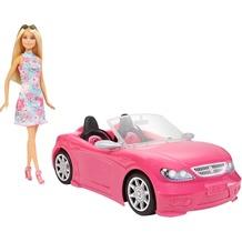Barbie Barbie Glam Cabrio mit Puppe