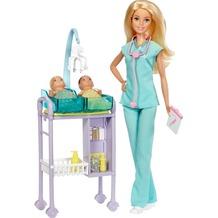 Barbie Barbie Kinderärztin Puppe und Spielset