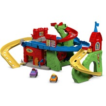 Mattel Fisher Price Little People Hochhausrennbahn