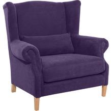 Max Winzer Big-Sessel violett 115  x  95  x  117
