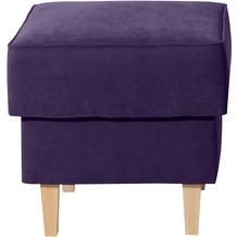 Max Winzer Hocker violett 53 x 53 x 45