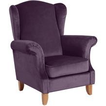 Max Winzer Ohrenbackensessel purple 88 x 84 x 108