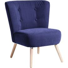 Max Winzer Sessel blau 69 x 68 x 80