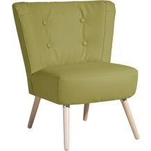 Max Winzer Sessel Neele Kunstleder grün 69 x 68 x 80