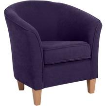 Max Winzer Sessel violett 70 x 70 x 74