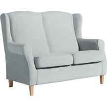 Max Winzer Sofa 2-Sitzer Lorris Chenille grau 139 x 86 x 103
