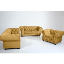 Max Winzer Sofa 2,5-Sitzer Orleans Samtvelours mais 216 x 100 x 77