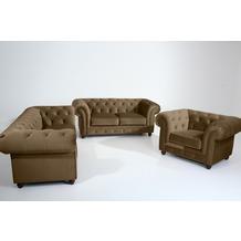 Max Winzer Sofa 2,5-Sitzer Orleans Samtvelours sahara 216 x 100 x 77