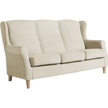 Max Winzer Sofa 3-Sitzer Lorris Chenille beige 193 x 86 x 103