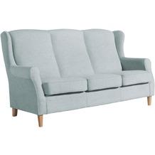 Max Winzer Sofa 3-Sitzer Lorris Chenille eisblau 193 x 86 x 103