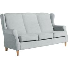 Max Winzer Sofa 3-Sitzer Lorris Chenille grau 193 x 86 x 103