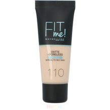 Maybelline Fit Me Liquid Foundation #110 Porcelain Normal To Oily Skin 30 ml