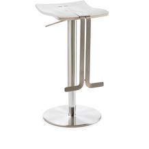 Mayer Sitzmöbel Bar- und Tresenhocker myWAVE Kunststoff Weiß