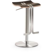 Mayer Sitzmöbel Bar- und Tresenhocker myWAVE Lederfaserstoff Mocca