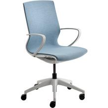 Mayer Sitzmöbel Dreh- und Besprechungsstuhl myMORRIS hellblau Bürostuhl