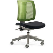 Mayer Sitzmöbel Drehstuhl myFLEXO schwarz/grün Schreibtischstuhl