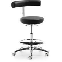 Mayer Sitzmöbel Funktionsdrehstuhl myQUIZZ mit extra hohem Lift Kunstleder Schwarz