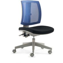 Mayer Sitzmöbel Kinder- und Jugenddrehstuhl myFLEXO schwarz + blau