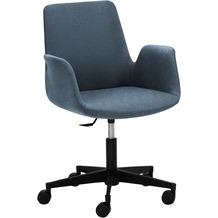 Mayer Sitzmöbel Sessel myHELIOS Stoff Blau-meliert