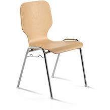 Mayer Sitzmöbel Stapelstuhl myDARIO Holz Buche lackiert