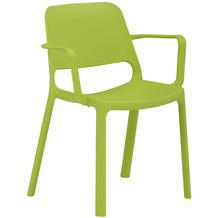 Mayer Sitzmöbel Stapelstuhl myNUKE mit Armlehnen grasgrün