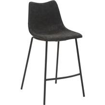 Mayer Sitzmöbel Tresenhocker mySOLO schwarz 4-Fuß-Gestell pulverbeschichtet schwarz
