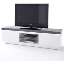 MCA furniture Atlanta Lowboard mit 2 Türen, weiß