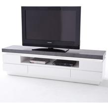 MCA furniture Atlanta Lowboard mit 5 Schubkästen, weiß