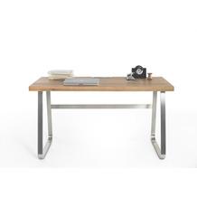 MCA furniture Beno Schreibtisch Asteiche massiv  140 x 75 x 60 cm
