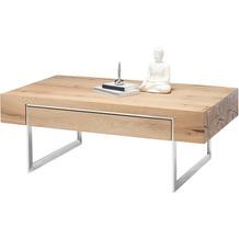 MCA furniture Birmingham Couchtisch Asteiche 1 Schubkästen 110 x 40 x 60 cm