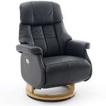 MCA furniture Calgary Comfort elektrisch Relaxsessel mit Fußstütze, schwarz/natur