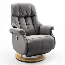 MCA furniture Calgary Comfort Relaxsessel mit Fußstütze, taupe/natur