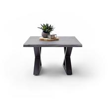MCA furniture Cartagena Couchtisch grau anthrazit lackiert X-Bein 75 x 45 x 75 cm